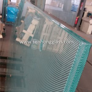 China 12mm + 1.78mm SGP + 12mm Digital Printing Tempered Laminated Glass