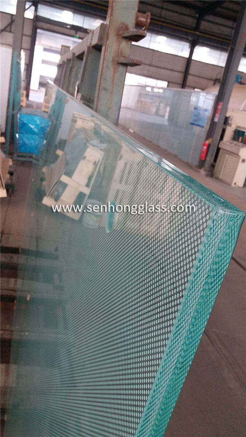 China 12mm + 1.78mm SGP + 12mm Digital Printing Tempered Laminated Glass