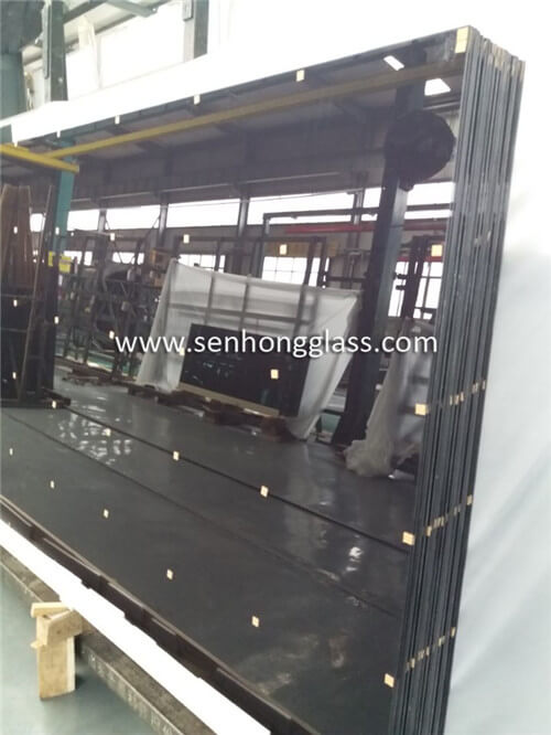 6.38mm grey laminated glass china manufacturer factory price
