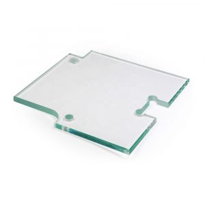 China toughened glass with cut-out senhong