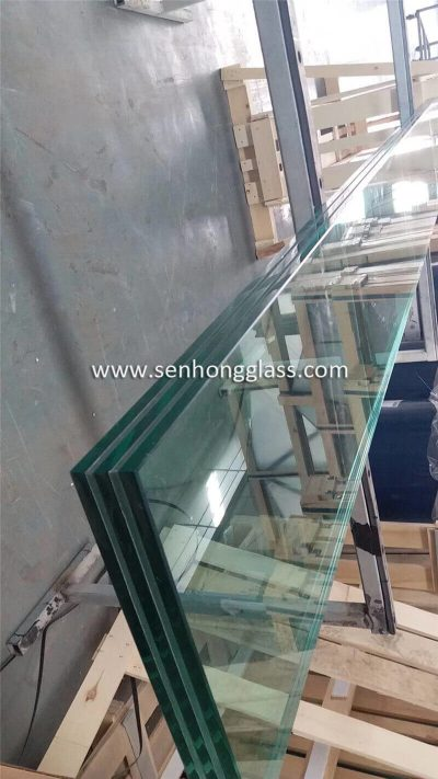 china Multi-layer SGP Tempered Laminated Glass Heat Soaked Testing