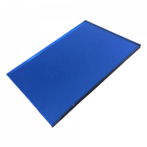 China supplier blue tinted float glass price