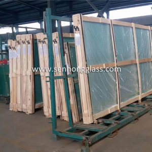 china jumbo tempered glass packing senhong