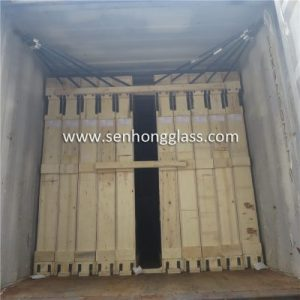 china laminated glass loading closed top