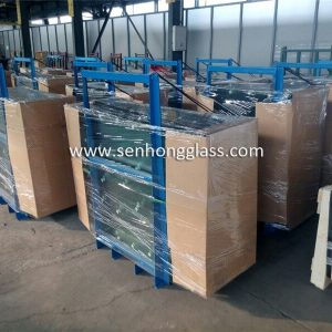 china tempered glass steel-crack-packing senhong