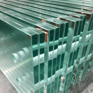 china toughened laminated glass with polished-edges senhong 2