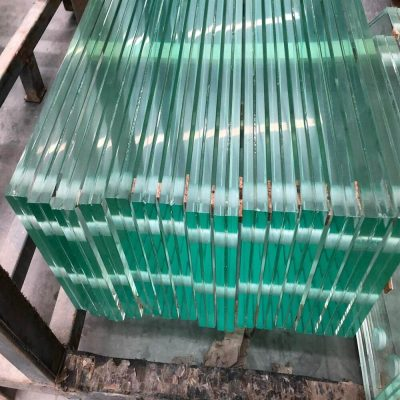 china toughened laminated glass with polished-edges senhong