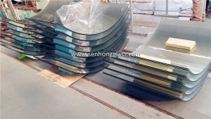 curved tempered laminated glass price china supplier