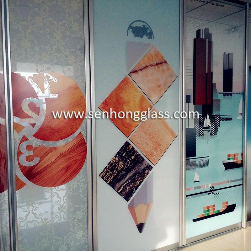 China digital-printing-glass