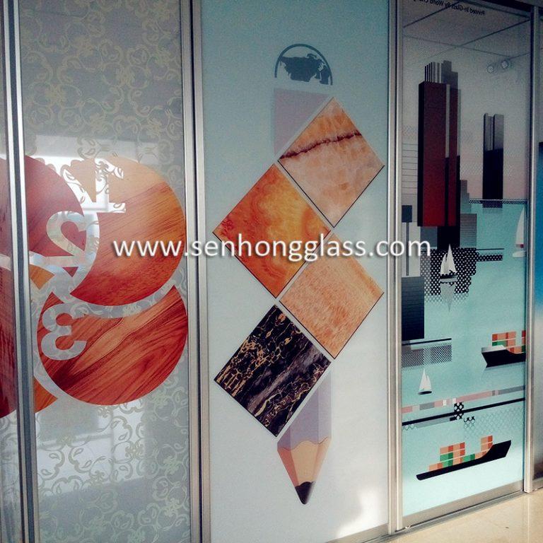Senhong Glass China Digital Printing Glass Manufacturer