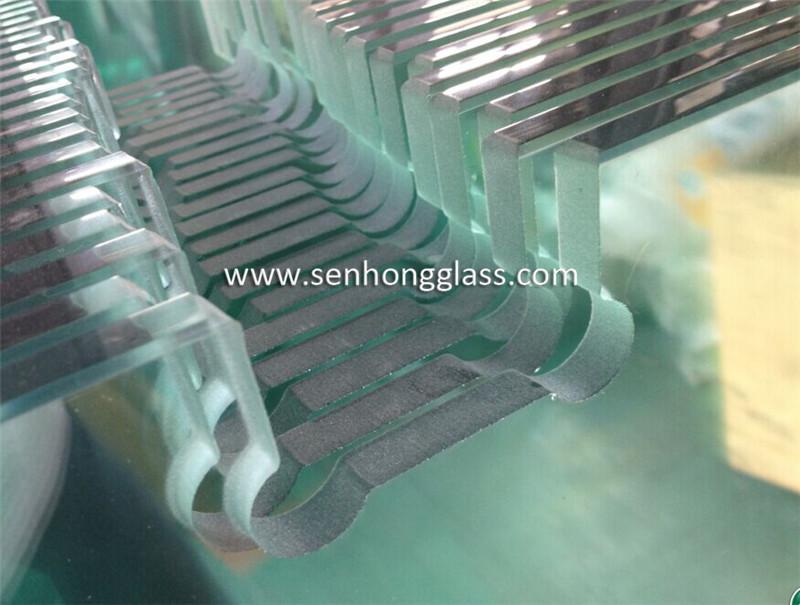 senhong shower doors china hinge cut out