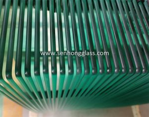 pencil polished edges senhong glass china tempered glass