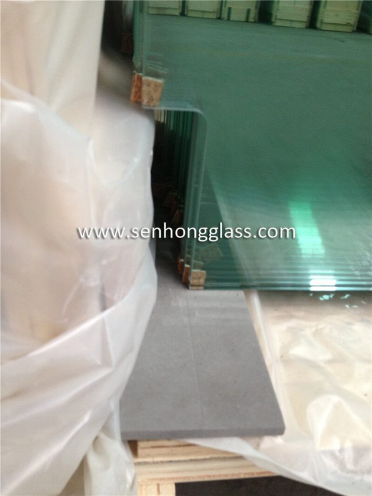 10mm tempered glass door with cut out 3