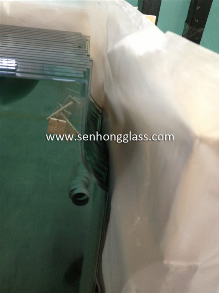 10mm tempered glass door with cut out