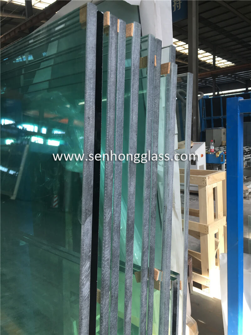 15mm jumbo tempered glass grinding edge