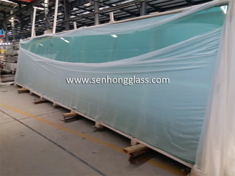 19mm tempered glass packing