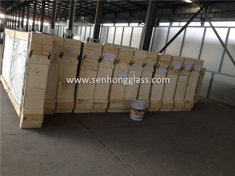 6.38mm clear laminated glass 4