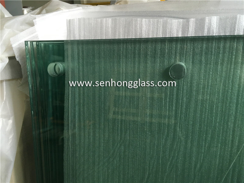 8 1.52 8 Tempered Laminated Glass With Holes