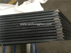 8mm tempered glass silk screen printing grinding edge 2
