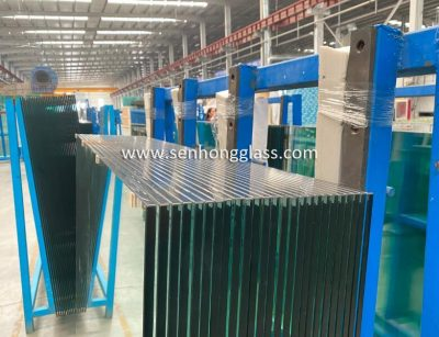 12mm tempered toughened glass with safety corner 1