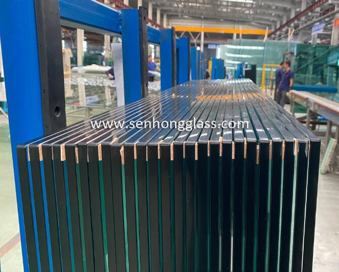 12mm tempered toughened glass with safety corner 2