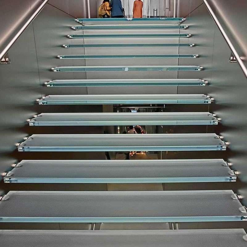glass stairs senhong glass china manufacturer