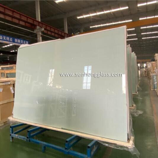 12mm tempered glass packing china for tennis courts padel courts