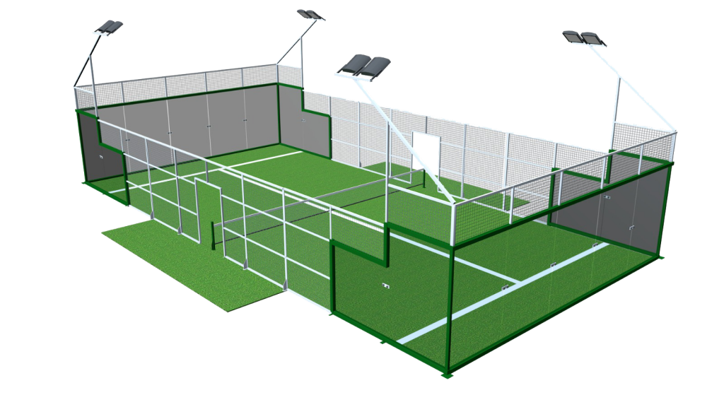 China Tempered Glass For Tennis Courts Padel Courts